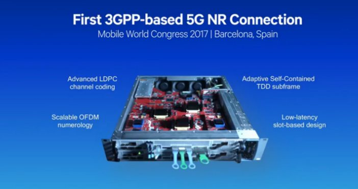 Video: Making 5G NR (New Radio) a Reality - Sub 6 GHz Demo