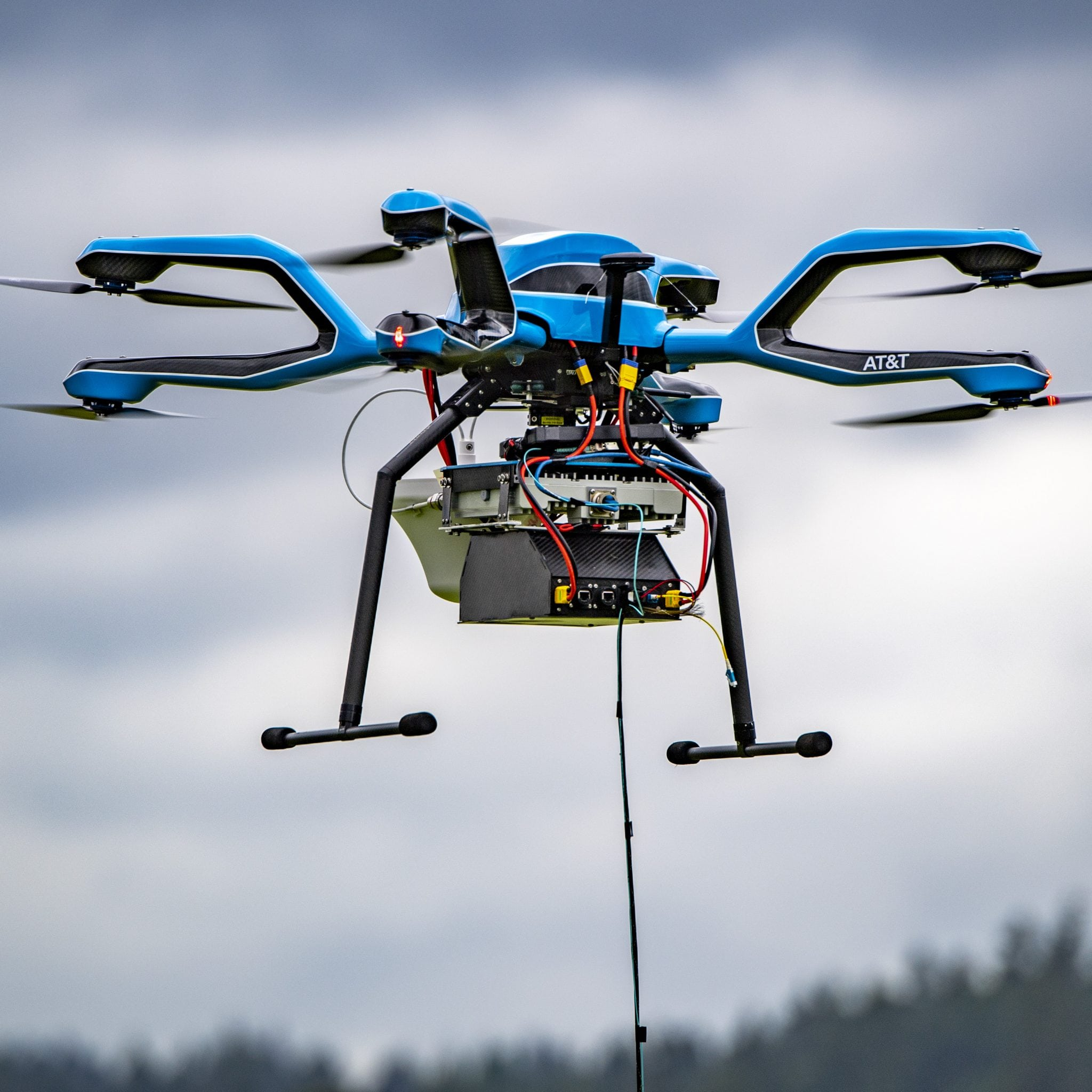 Atts New Flying Cow Drone Is All Weather Disaster Insurance
