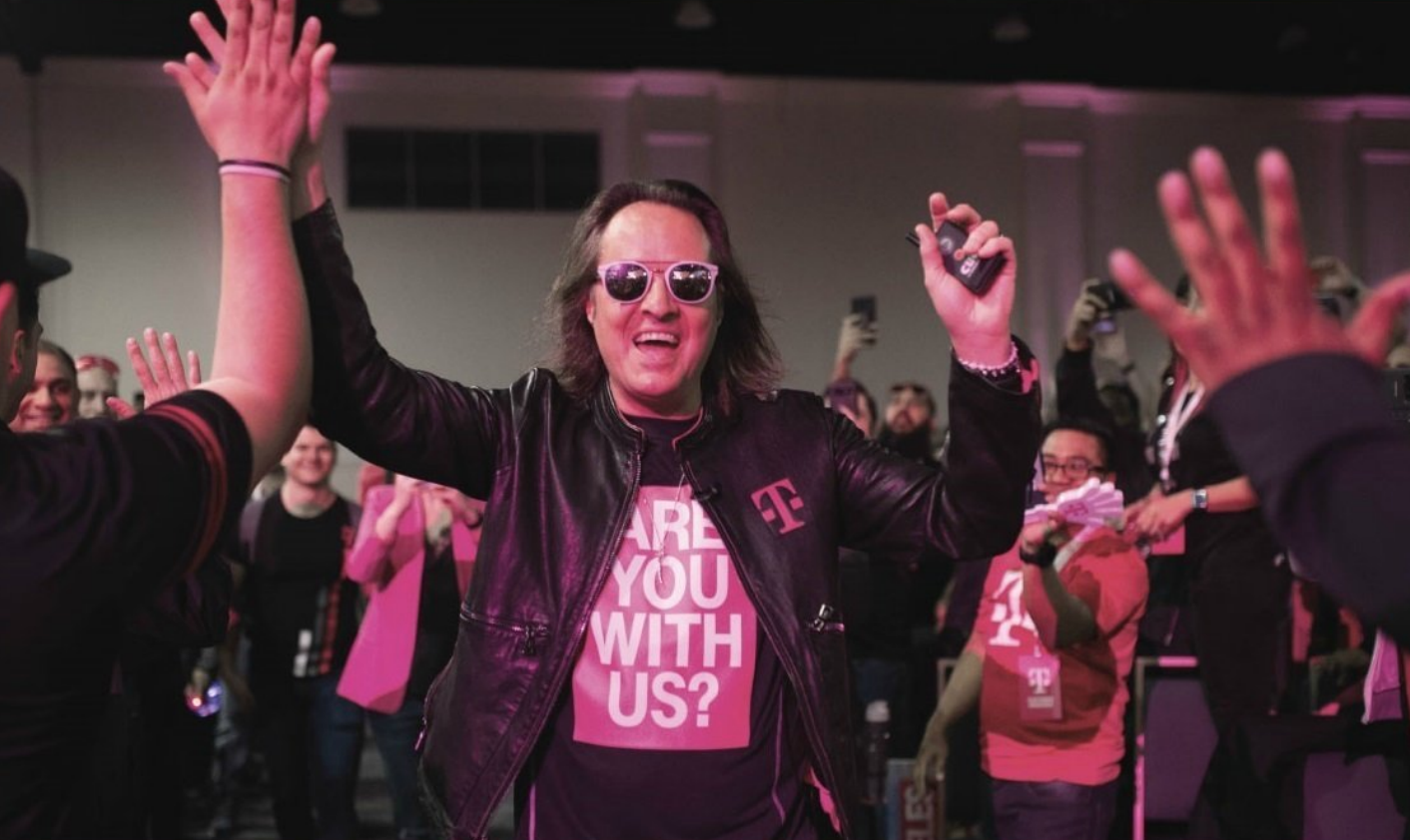 T Mobile Ceo Legere Reportedly A Candidate For Wework S Top Job