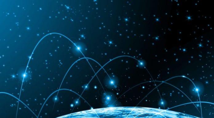 satellite network globe 5g